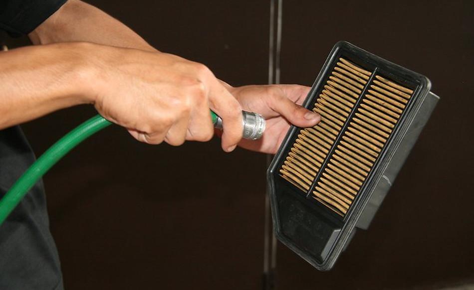Aprendiendo a limpiar el filtro de aire