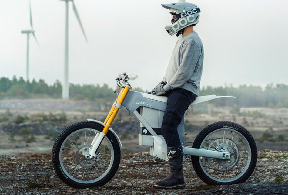 CAKE Kalk & la motocicleta eléctrica de montaña