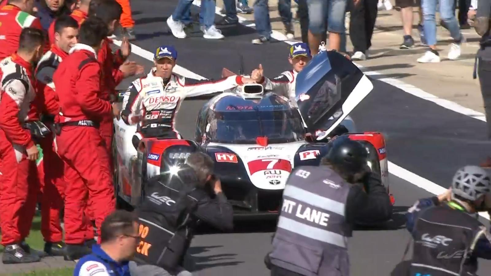 Toyota inició con victoria la nueva temporada del WEC
