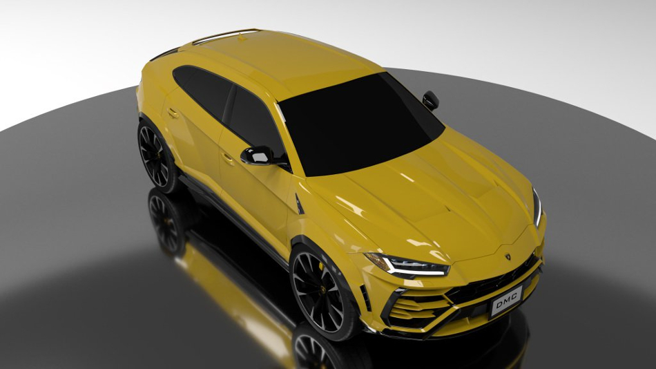 El Lamborghini Urus recibe ajustes por parte de DMC