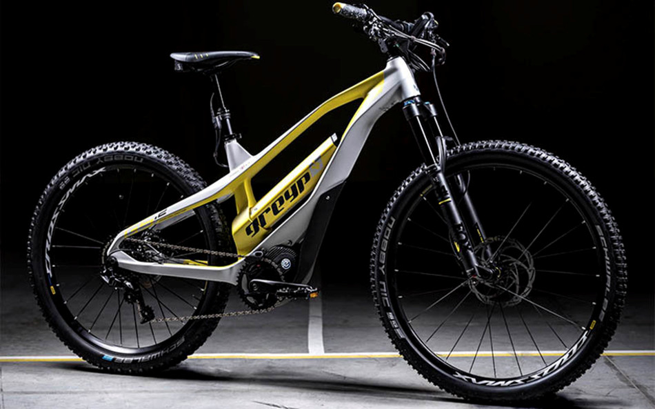 Greyp presentó bicicleta eléctrica rígida