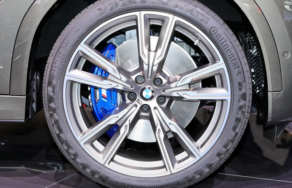 BMW mostró el X6 M50i en Frankfurt