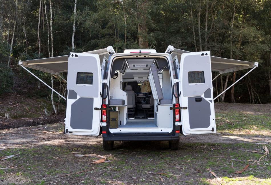 Volkswagen Crafter 4MOTION by Trakka