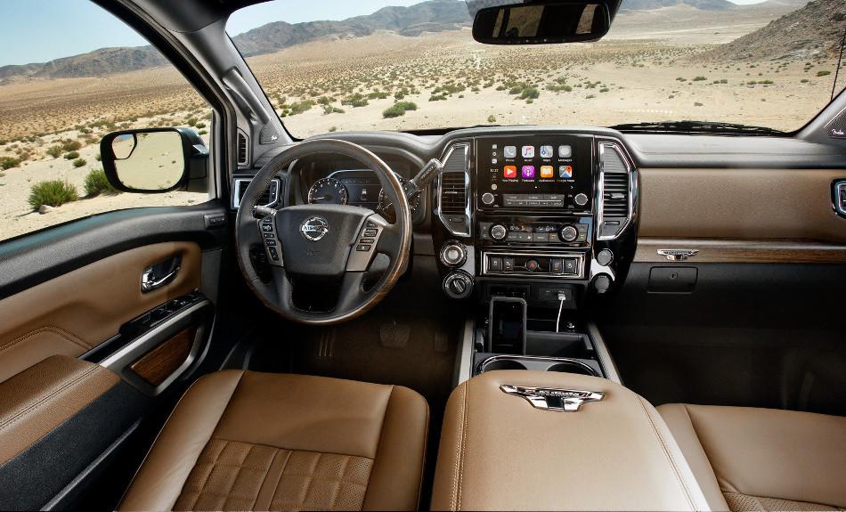 Nissan presentó el Titan 2020