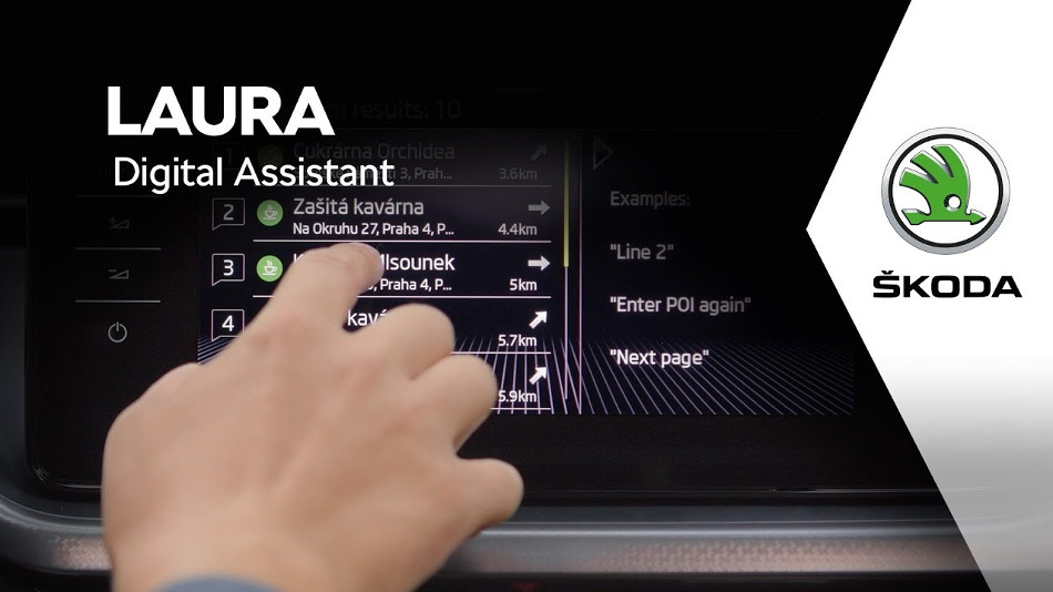 Conoce el nuevo asistente virtual de Skoda llamado Laura