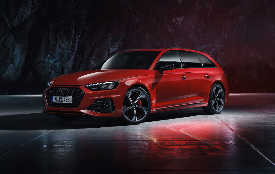 Audi RS4 Avant 2020 facelifted