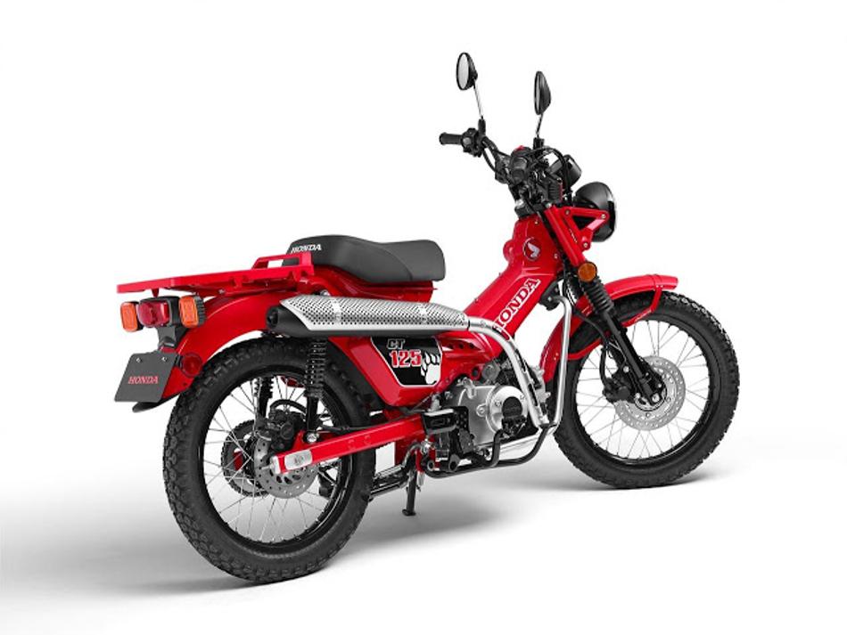 Honda presentará la nueva CT125 en el Salón de Tokio