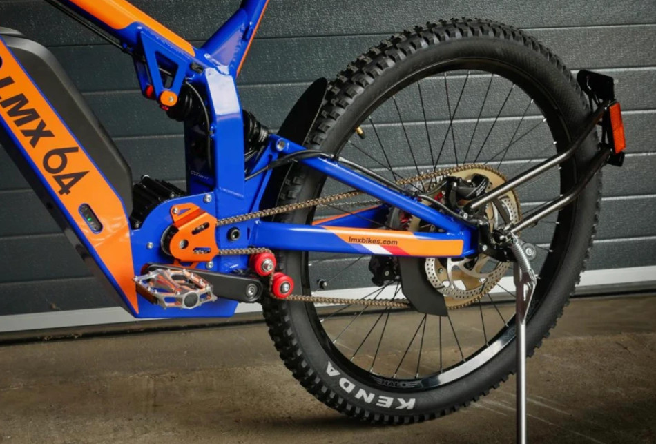 LMX presentó la bicicleta LMX 64H