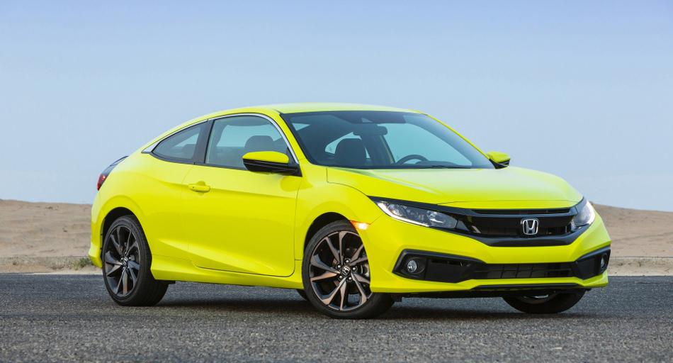 El Honda Civic Coupé 2020 llega a los EEUU
