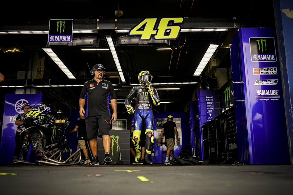 """Valentino Rossi: """"No estamos contentos con los últimos resultados"""""""
