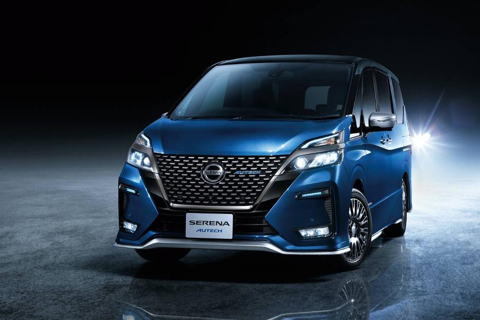 Nissan presentó el Serena 2020 by Autech