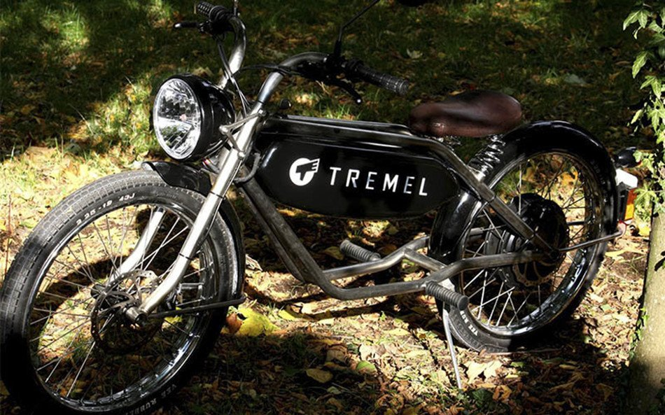 Tremel Zimmner presenta prototipo de ciclomotor eléctrico