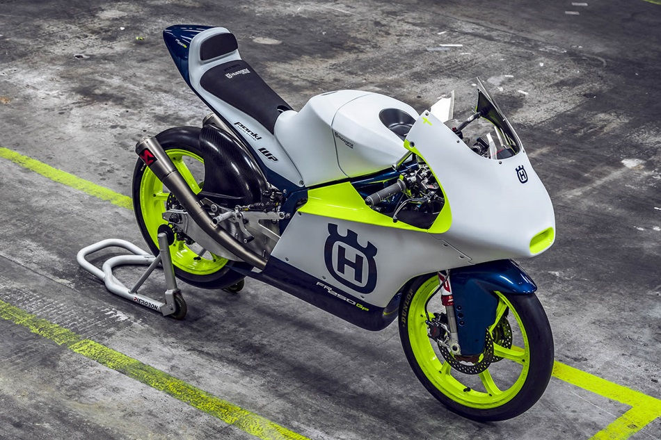 Presentada la nueva Husqvarna de Moto3 para 2020