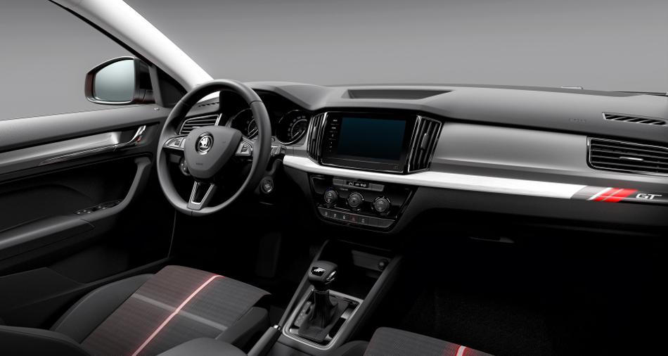 Skoda Kamiq GT 2020 solo para China