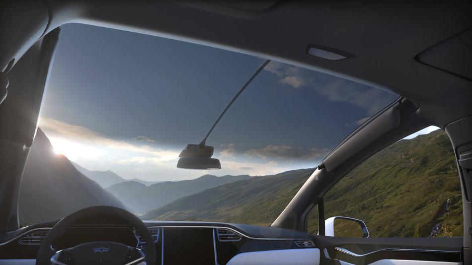 Conoce el nuevo sistema limpiaparabrisas patentado de Tesla
