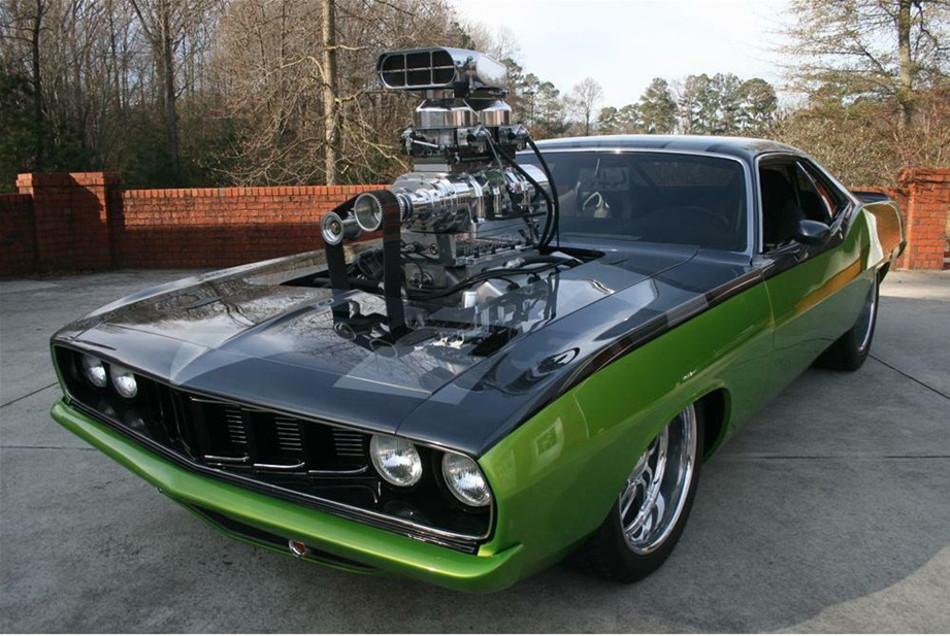 Worldwide Auctioneers vende un Plymouth Barracuda de 'Fast & Furious 5'