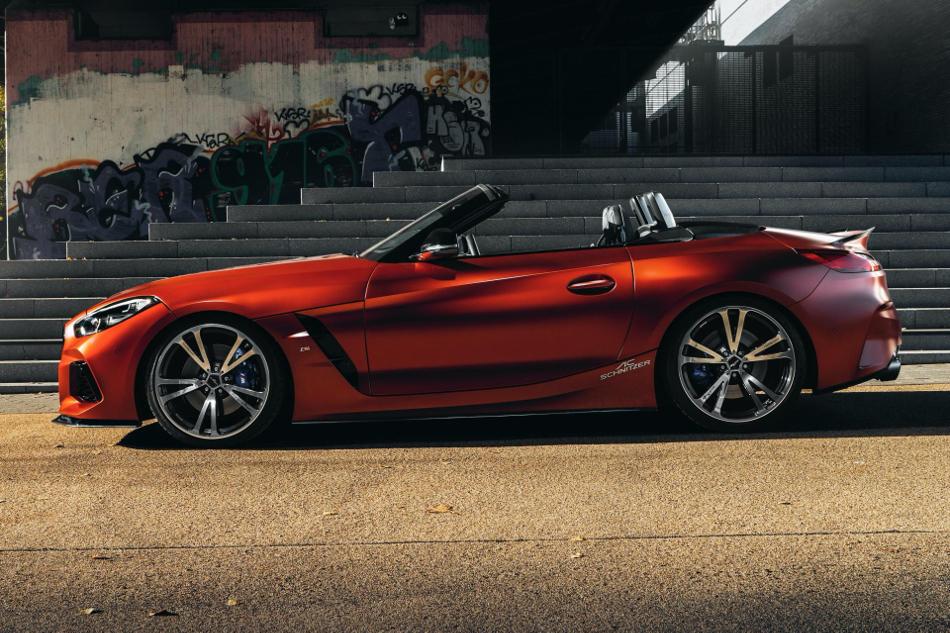 El BMW Z4 M40i de AC Schnitzer