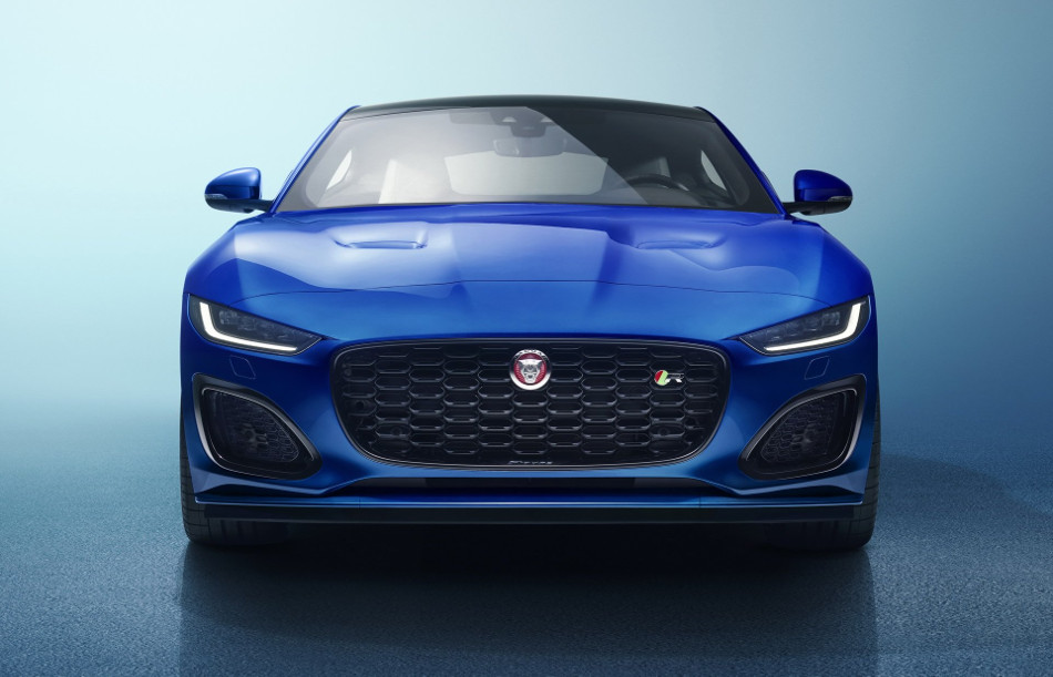 Jaguar F-Type facelifted 2020