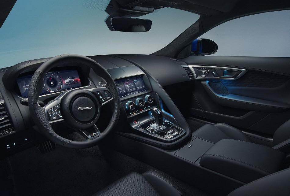 Jaguar F-Type facelifted 2020