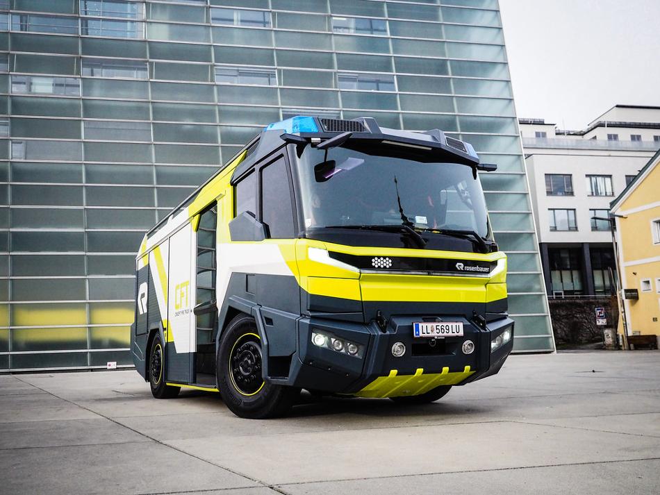 Rosenbauer presenta el Concept Fire Truck