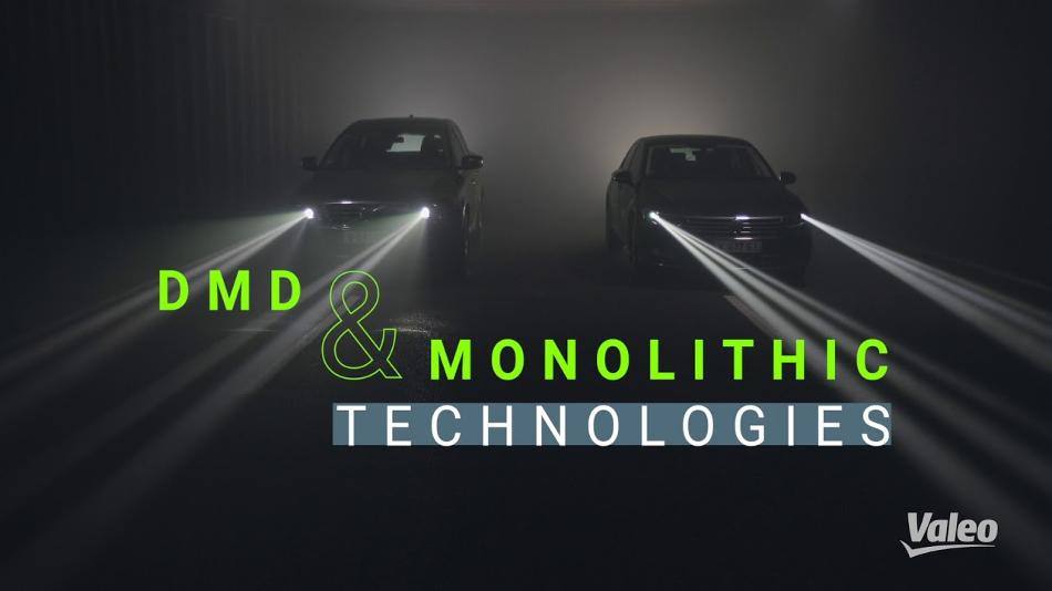 Valeo introducirá un sistema de iluminación LED inteligente