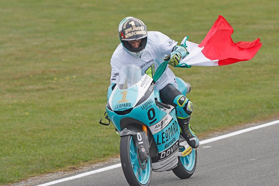 "Lorenzo Dalla Porta: ""La Moto2 me gustó en mojado, en seco debe ser exagerado"""