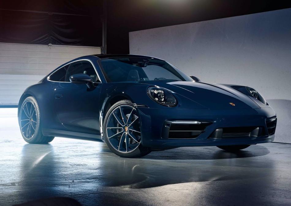 Nuevo Porsche 911 Leyenda belga