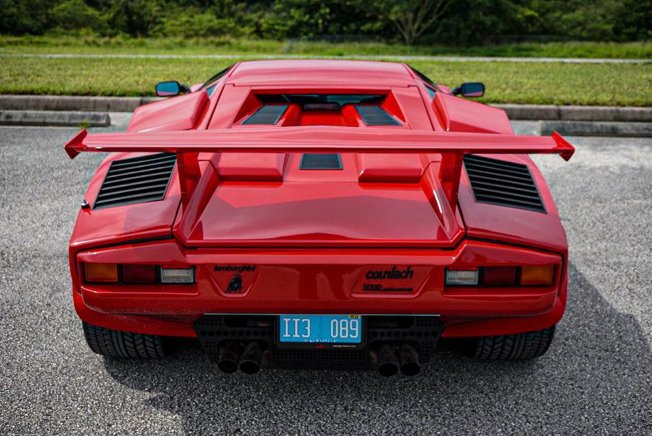 Lamborghini Countach 5000 QV de 1988 a la venta