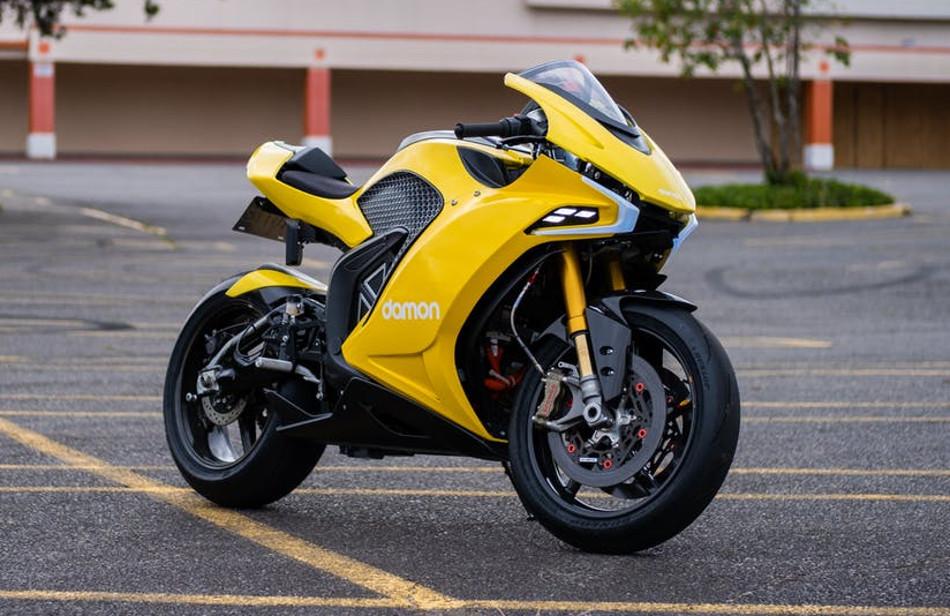 Damon Motorcycles presentó la Hypersport