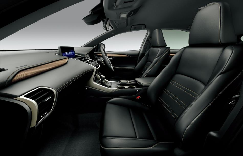 Nuevos Lexus NX Bronze y UX Blue Edition