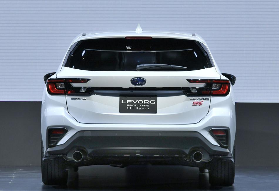 Subaru Levorg Prototype STI