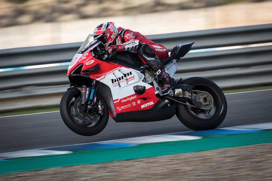 Michele Pirro, listo para sustituir a Leon Camier en el Barni Racing
