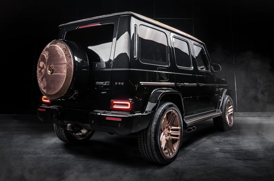 Mercedes G63 Steampunk Limited Edition