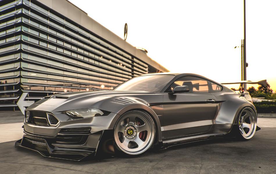 Shelby Mustang Super Snake by Hugo Silva Designs