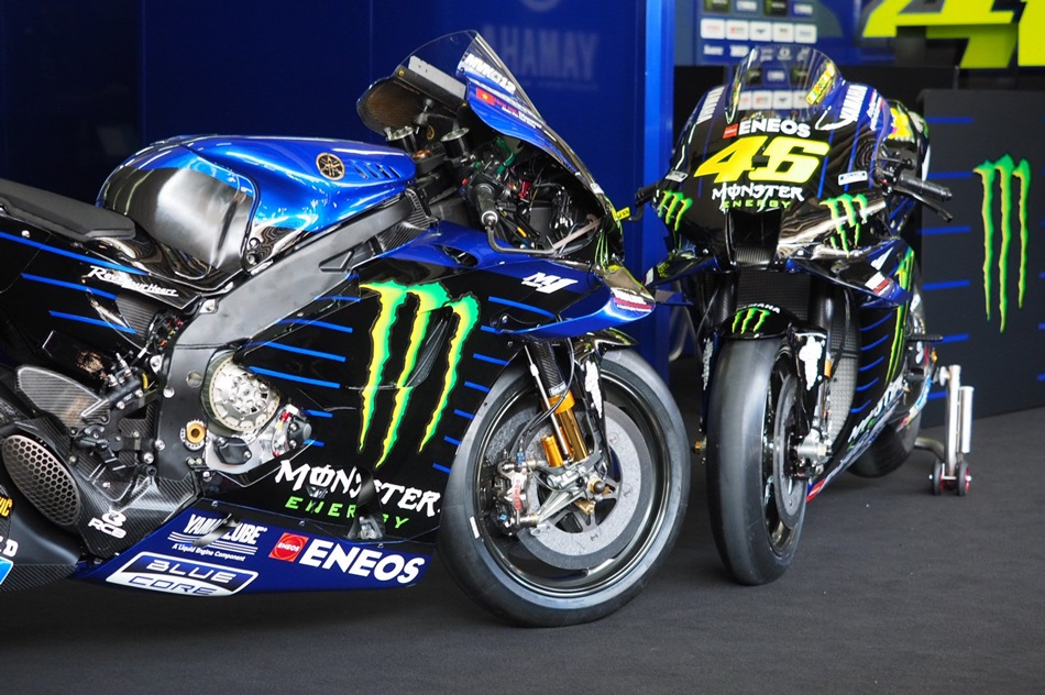 El Monster Energy Yamaha se presenta para 2020