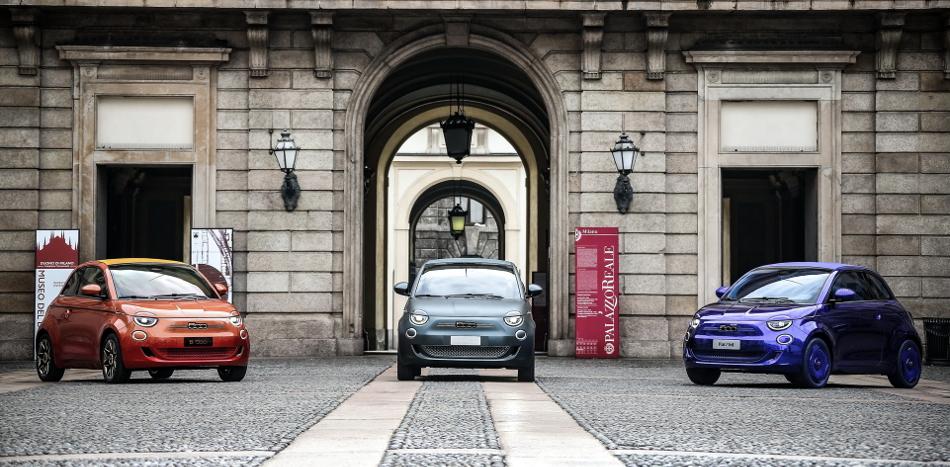 El Fiat 500 totalmente eléctrico