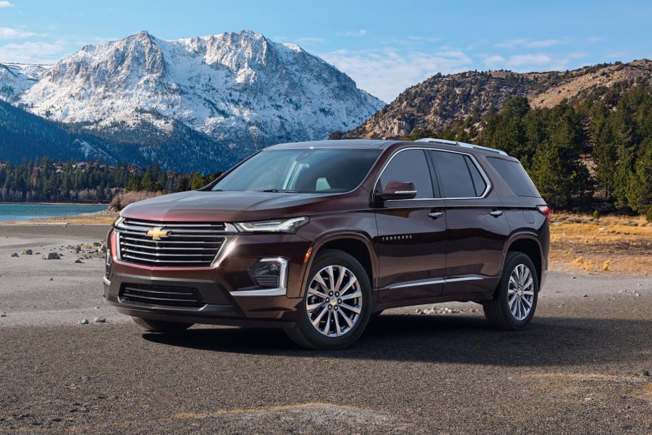 Nueva Chevrolet Traverse 2021