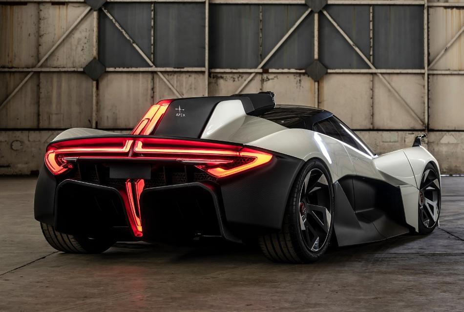 Se presenta el Apex AP-0 el superdeportivo eléctrico británico
