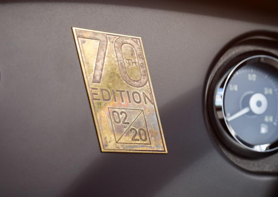 Morgan presentó el Plus 4 70th Anniversary Edition