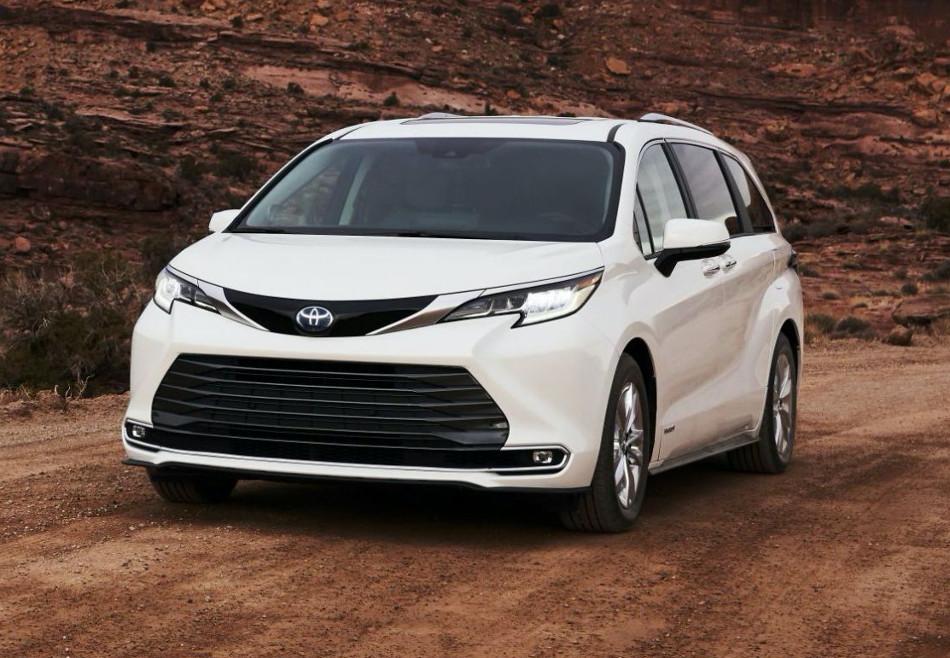 Toyota presentó el Sienna 2021