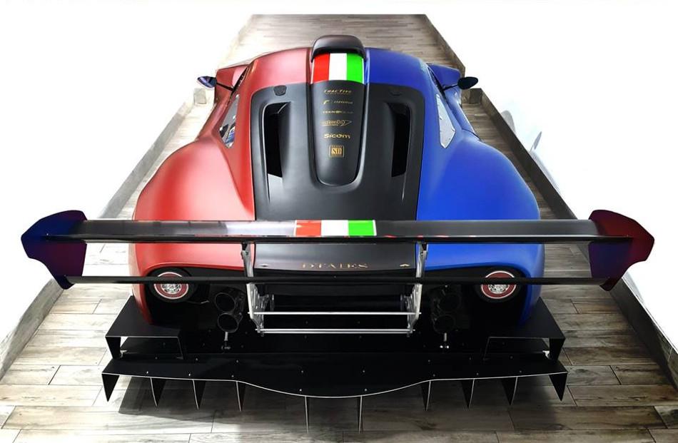 ATS presentó el Corsa RR Turbo