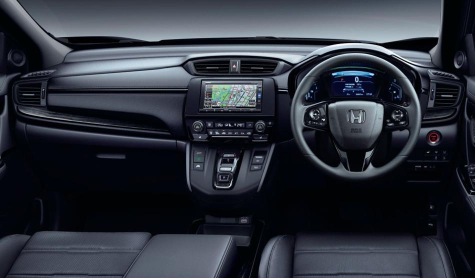 Honda lanza en Japón el CR-V Black Edition
