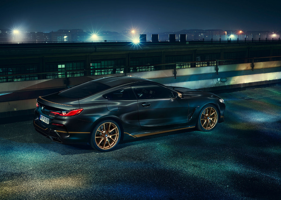 BMW presentó los modelos 8-Series Golden Thunder Edition