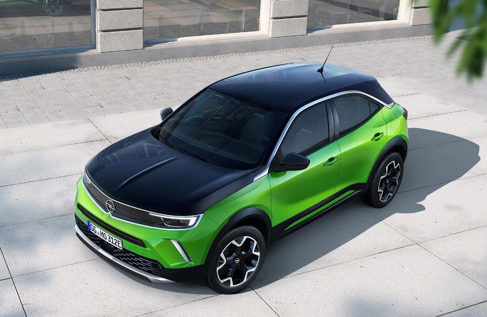 Opel Vauxhall Mokka 2021 eléctrico