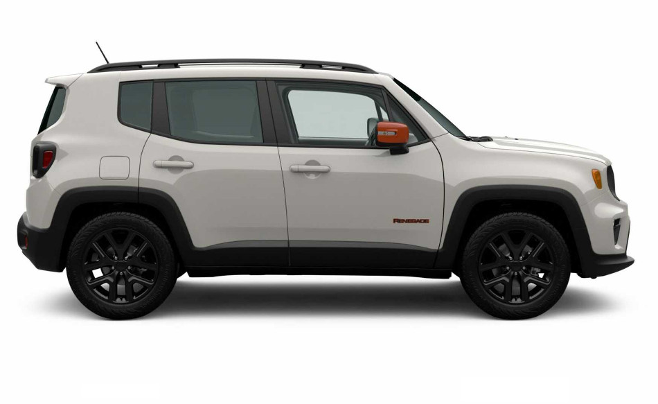 Jeep Renegade Orange Edition 2020