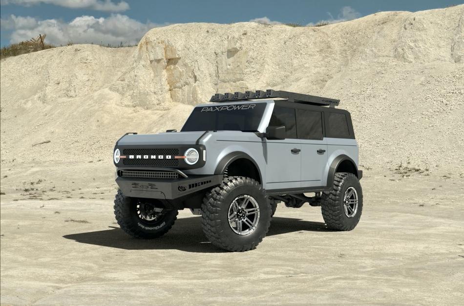 El Ford Bronco 2021 recibe más potencia con PaxPower