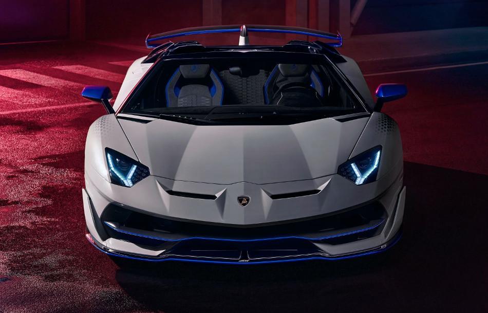 Lamborghini mostró el nuevo Aventador SVJ Roadster