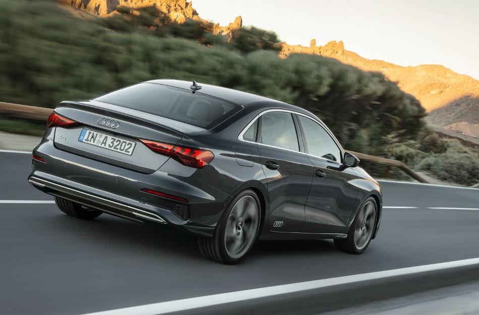 Audi presentó A3 2022