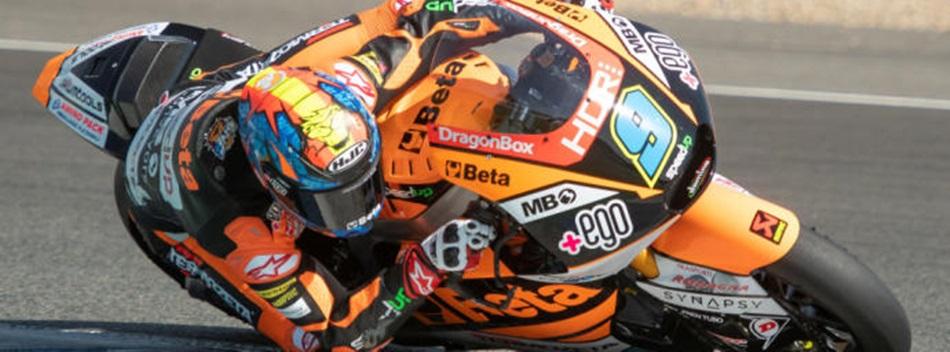 Marco Bezzecchi, el más fuerte del viernes en Jerez