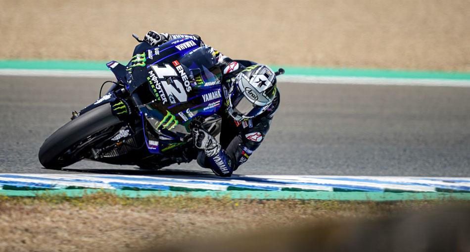 Quartararo, el más rápido en Jerez con Márquez fuera de combate